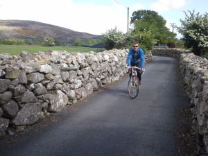 Exploring the back roads by bike I fell in love with stone walls all over again!